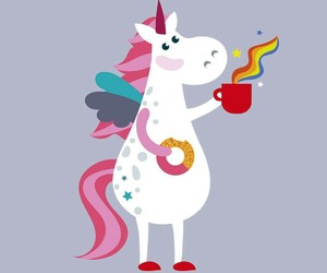 color, unicorn, and unicornio image