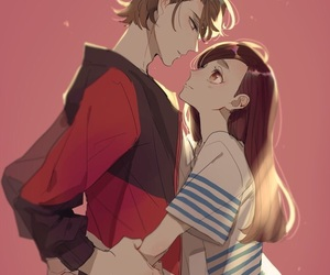 anime, anime couple, and cute image
