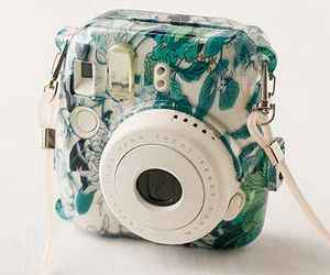 floral, fujifilm, and camera case image