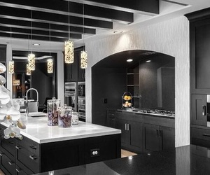 kitchen, luxury, and dream house image
