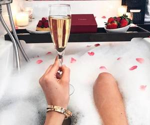 luxury, bath, and cartier image