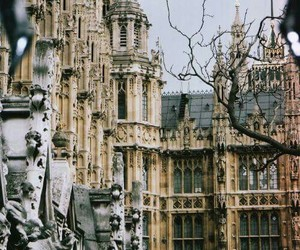 architecture, gothic, and london image