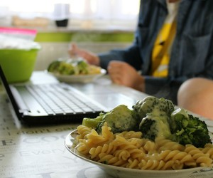 afternoon, broccoli, and cooking image