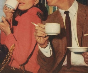 vintage, Breakfast at Tiffany's, and coffee image