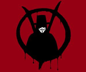 v, v for vendetta, and vendetta image