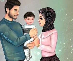 arabic, baby, and art image