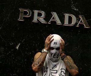Prada, tumblr, and black image