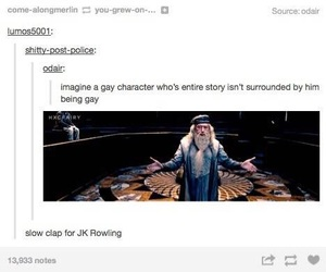 book, dumbledore, and fantasy image