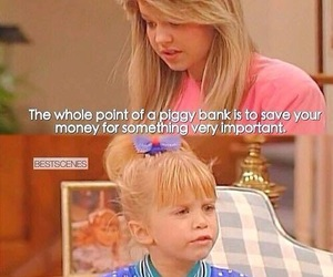 full house, funny, and ice cream image