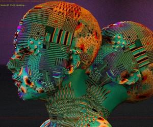 3D art, art, and digital dreams image