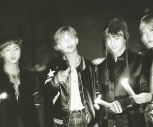 bts, jin, and hoseok image