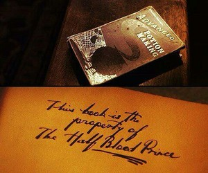 half-blood prince and harry potter image