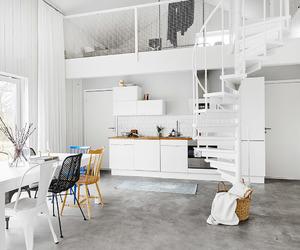 interior, white room, and decor image