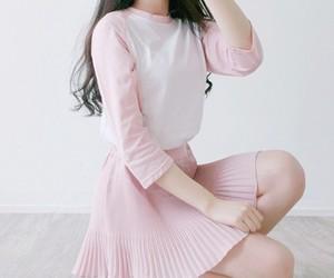 pink, pastel, and korean image