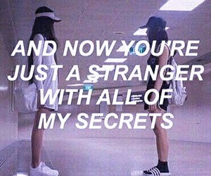 quotes, stranger, and secret image