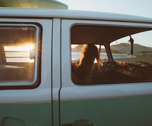 alone, car, and oldschool image