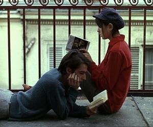 book, couple, and gif image