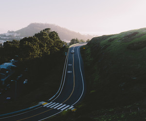 country, road, and roadtrip image
