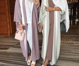 fashion, abaya, and style image