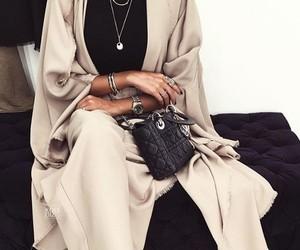 fashion, chic, and hijab image