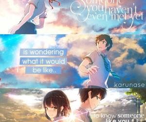 anime, quotes, and kimi no na wa image
