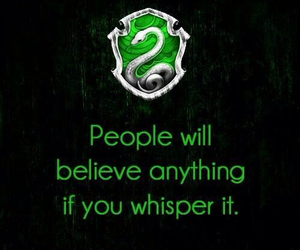 slytherin, hp, and harry potter image
