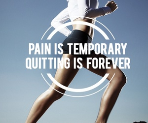 motivation, pain, and fitness image