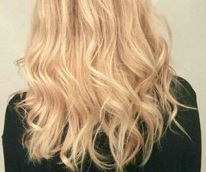 blond, hairstyle, and newhair image