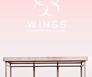 bts, wings, and ynwa image