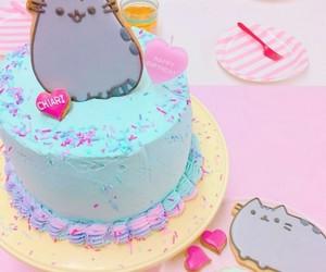 bakery, cake, and kitty image