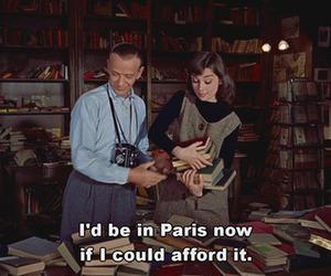 audrey hepburn, movie, and paris image