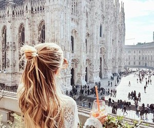travel, milan, and italy image