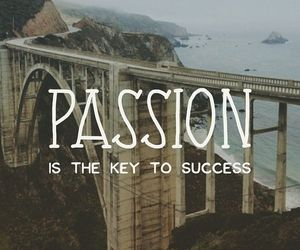 passion and success image