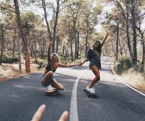 fashion, hipster, and skate image