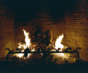 analog, chiaroscuro, and fire image