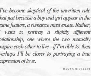 Hayao Miyazaki and quote image