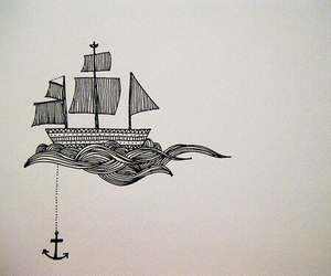 anchor, boat, and ship image