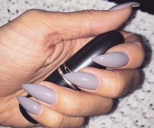 nails, mac, and lipstick image