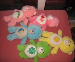 aesthetic, grunge, and care bears image
