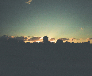 city, city lights, and grainy image