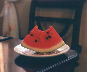 watermelon, vintage, and food image