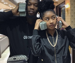 money and offset image