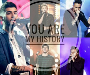 history, zayn, and onedirction image