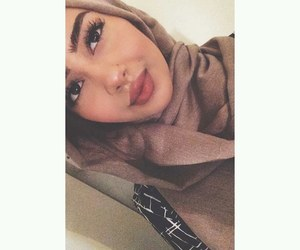 beauty, arab, and arabic image