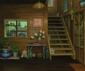 animation, studio ghibli, and when marnie was there image