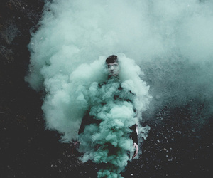 grunge, smoke, and boy image