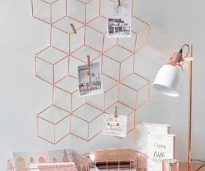 rose gold, home, and room image