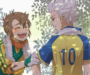 anime, fanart, and inazuma eleven image