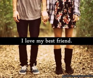 love, boy, and friends image