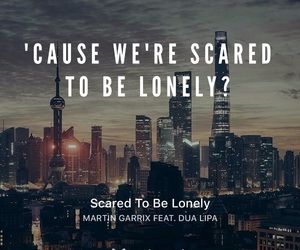 lonely, Lyrics, and song image